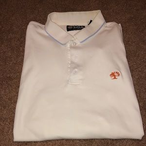 PGA Authentic White Collared Shirt